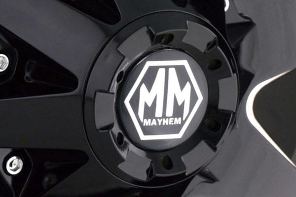 mayhem tank wheels center cap