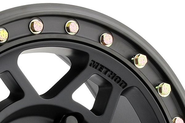 method 405 utv beadlock wheels lip