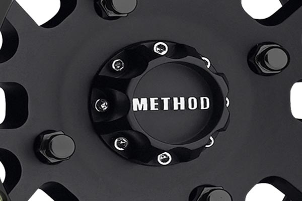 method 406 utv beadlock wheels center cap