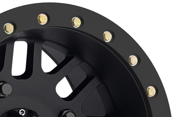 method 406 utv beadlock wheels lip