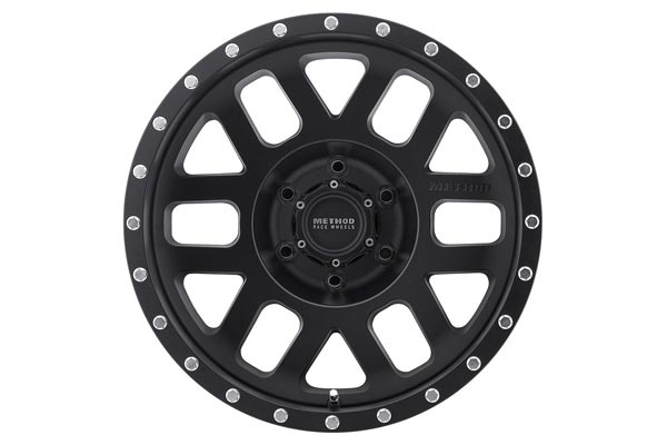 method mr306 mesh wheels black face