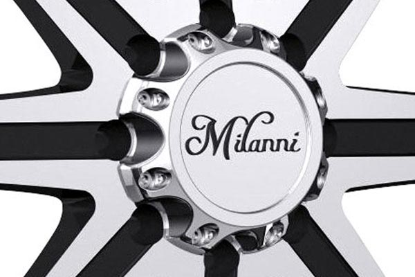 milanni 446 kool whip 8 wheels center cap