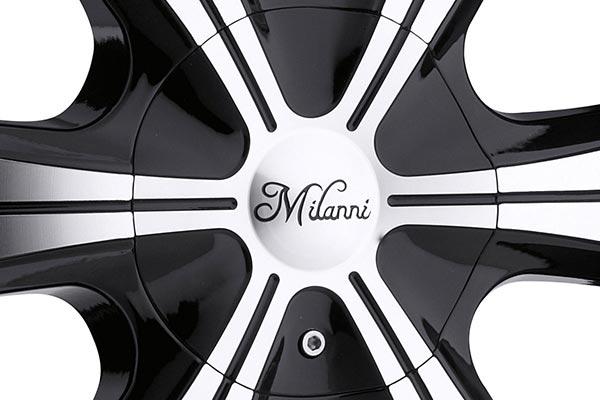 milanni 452 stellar wheels center cap