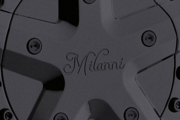 milanni 457 force wheels center cap