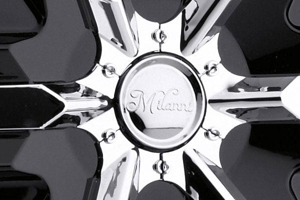 milanni 460 bel air 6 wheels center cap