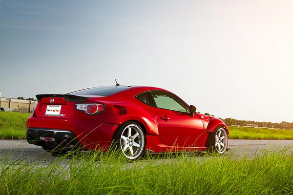 miro 398 wheels scion frs rear lifestyle