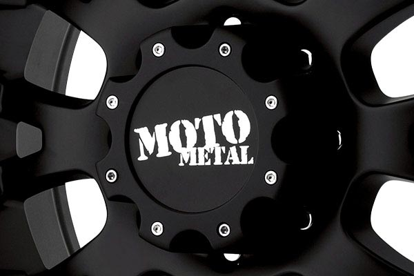 moto metal mo956 matte black machined wheels center cap