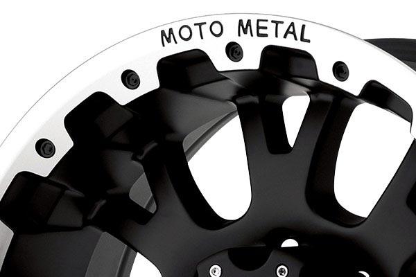 moto metal mo956 matte black machined wheels lip
