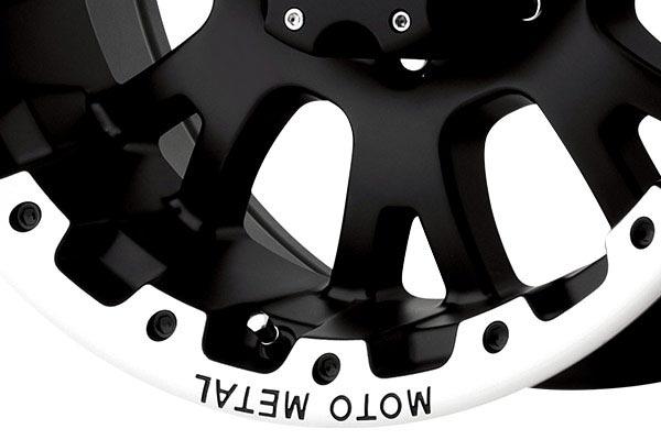 moto metal mo956 matte black machined wheels spoke
