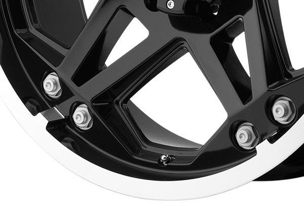 moto metal mo960 gloss black machined wheels spoke