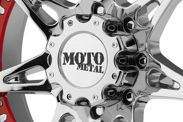 moto metal mo961 chrome wheels center cap