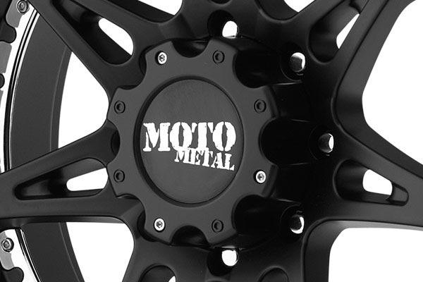 moto metal mo961 satin black wheels center cap