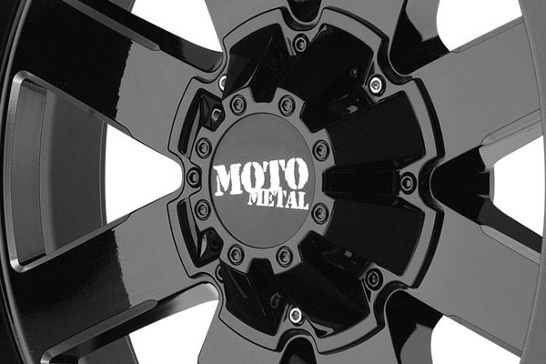 moto metal mo962 gloss black wheels center cap