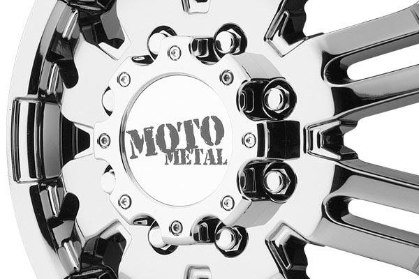 moto metal mo963 dually bright pvd wheels center cap
