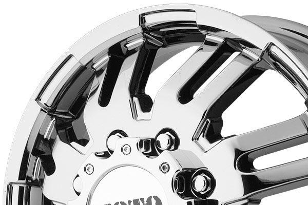 moto metal mo963 dually bright pvd wheels lip