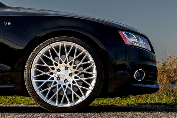 niche citrine wheels audi s5 detail