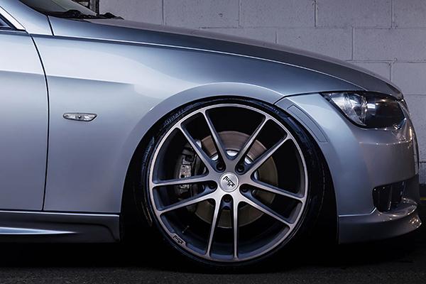 niche enyo wheels 3 series front detail