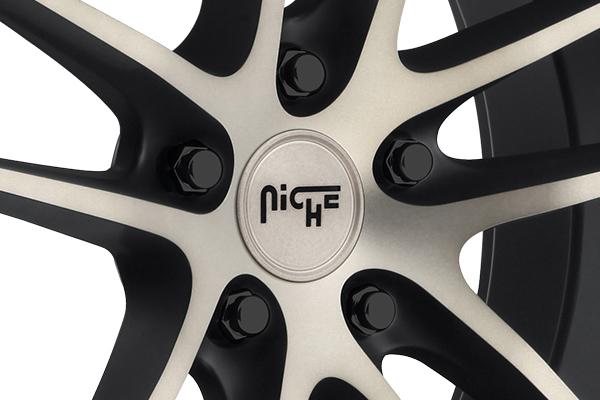 niche enyo wheels center cap