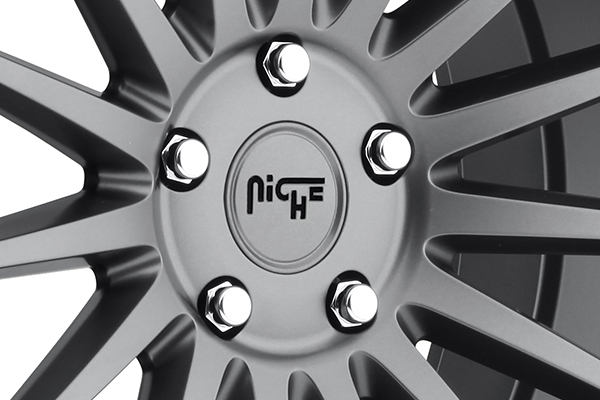 niche form wheels center cap