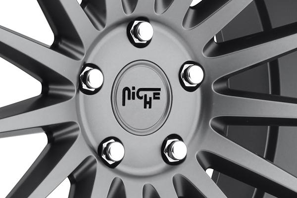 niche form wheels center cap