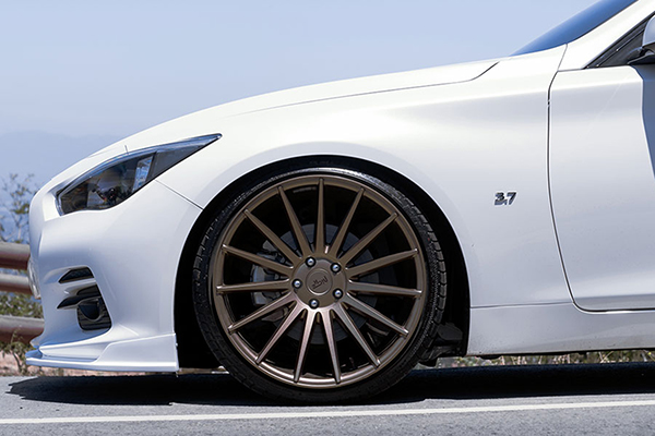 niche form wheels q50 lifestyle