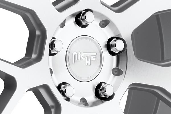 niche intake wheels center cap