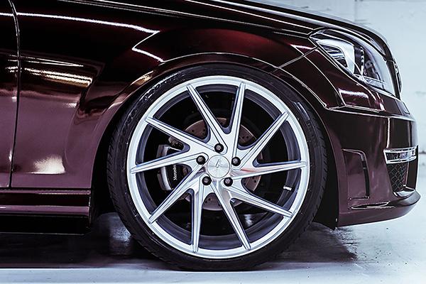 niche invert wheels mbz c300 detail