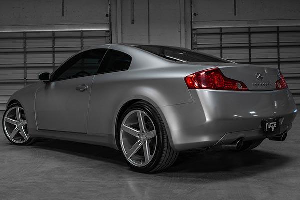 niche milan wheels g35 rear lifestyle