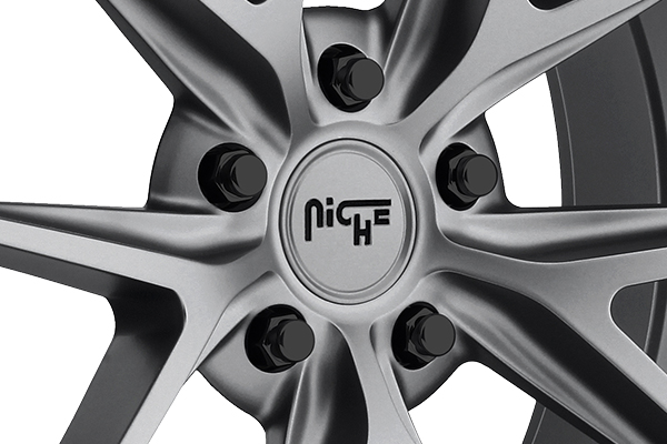 niche misano wheels center cap