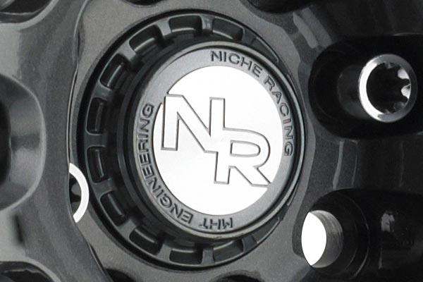niche nr6 wheels center cap