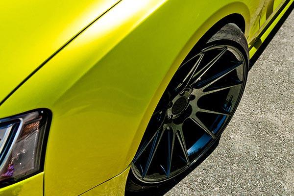 niche vicenza wheels audi s5 detail