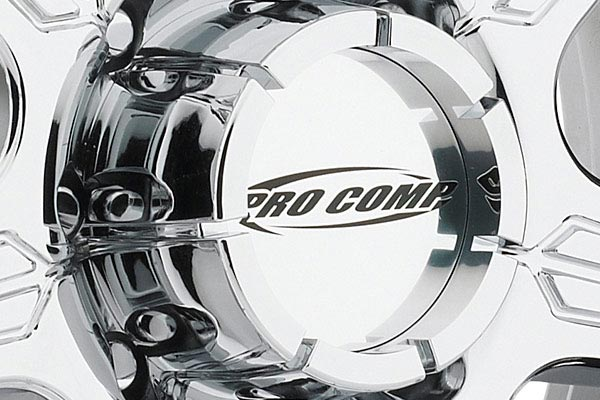 pro comp district 6051 series alloy wheels center cap