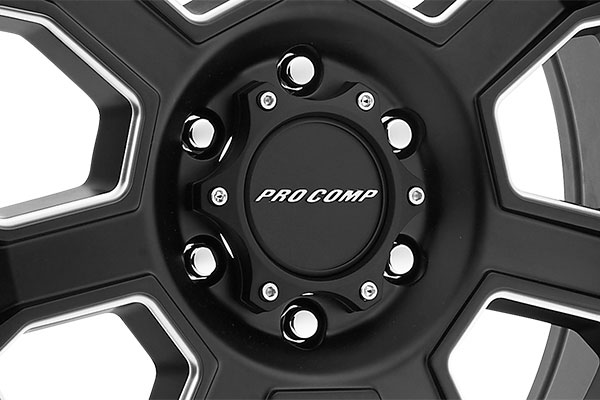 pro comp series 43 sledge alloy wheels center