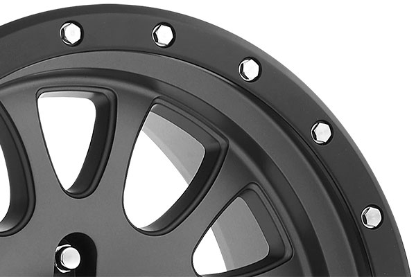 pro comp series 44 syndrome alloy wheels lip