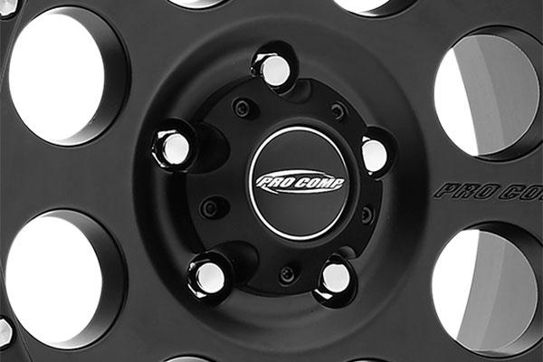 pro comp series 45 proxy alloy wheels matte center