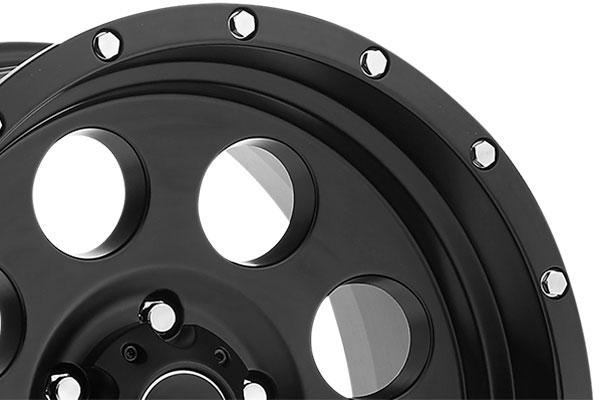 pro comp series 45 proxy alloy wheels matte lip