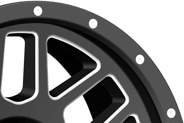 pro comp vertigo 40 series alloy wheels lip