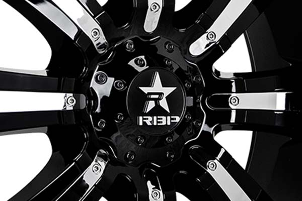 rbp 94r black chrome wheels center
