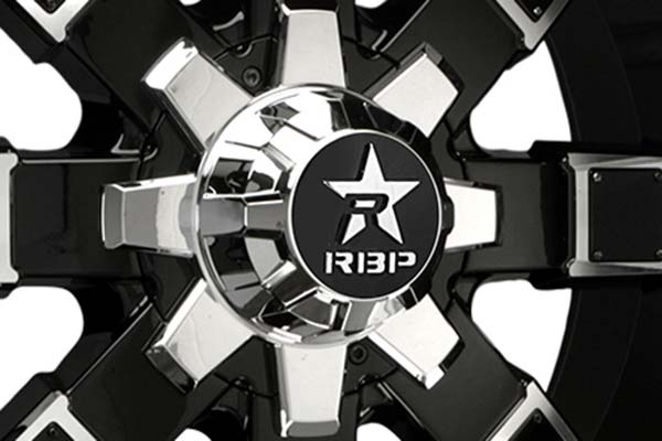 rbp 95r black machined wheels center