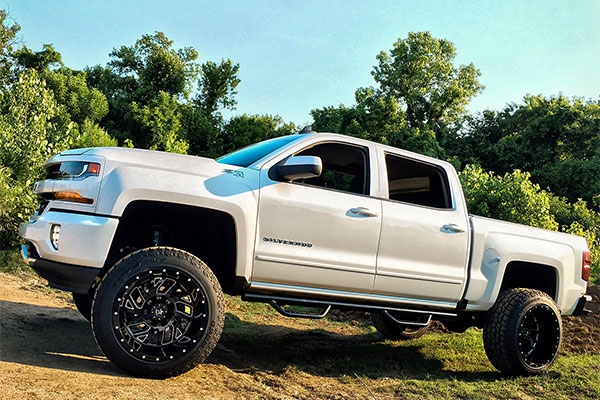 rbp glock wheels chevy silverado lifestyle