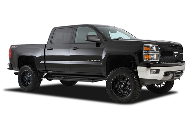 rbp 89r assassin glossy black machined wheels silverado lifestyle