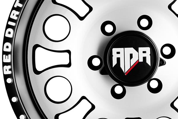 red dirt road rd05 boss wheels closeup