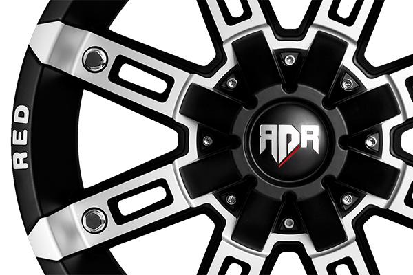 red dirt road rd06 thunder wheels closeup