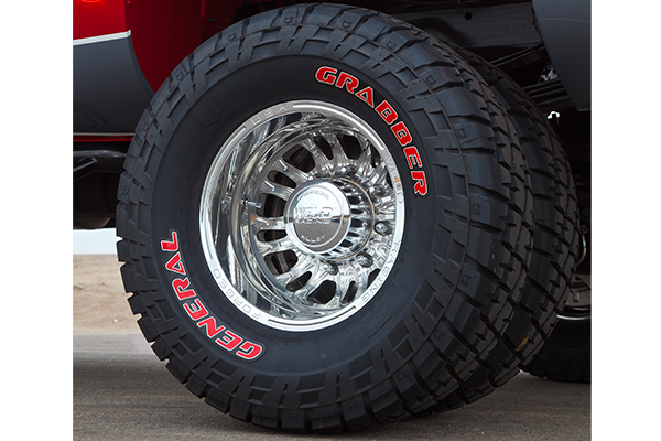 rekon hd d54 dually wheels dually detail