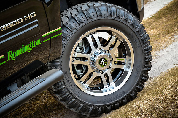 remington trophy wheels detail