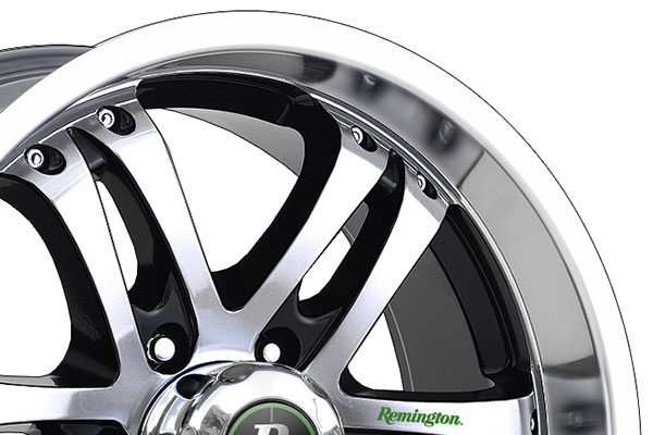 remington trophy wheels lip