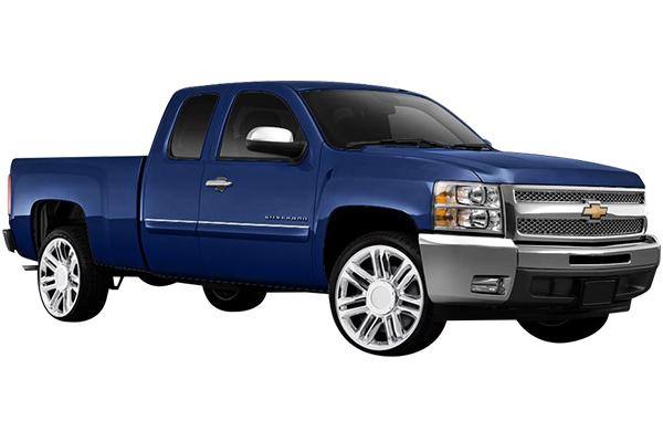 rev 585 wheels silverado installed