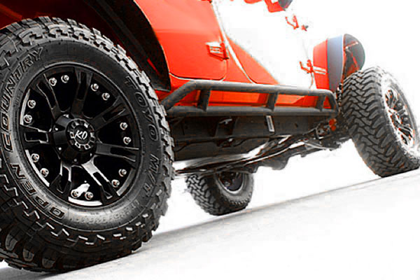 rev ko offroad 840 anaconda wheels jeep wrangler close