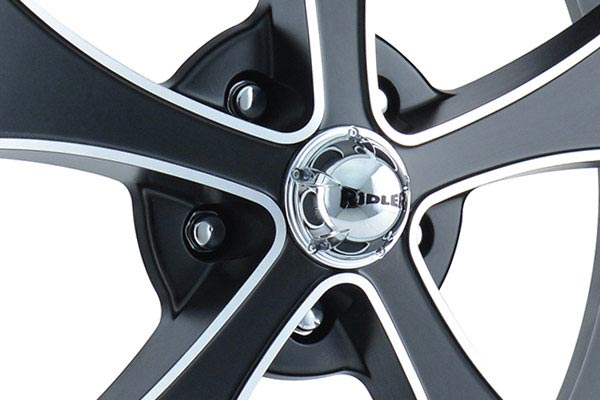 ridler 645 wheels center cap