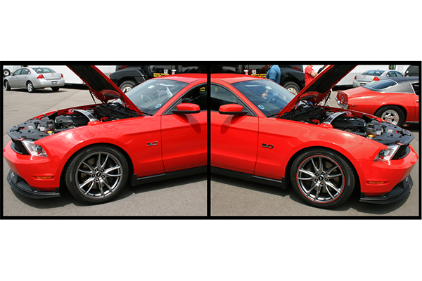 rimpro tec wheel bands mustang before after